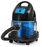 Staubsauger mit Wasserfilter beutellos Wasserstaubsauger Nass und Trocken Boden Staubsauger 2.000 Watt (Blau)