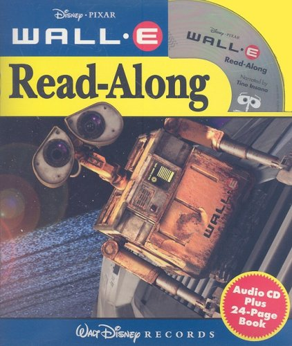 Wall-E [With Paperback Book] (Disney Read-Along)
