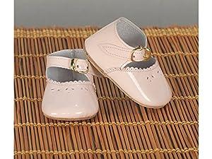 Mariquita Pérez- Zapato Merceditas Rosa Complementos, Color Vestido de colección diseño Propio (Comercial de Juguetes Maripe SL 1)