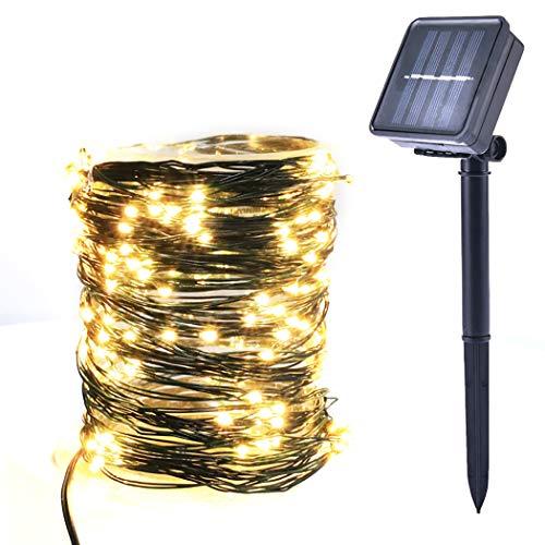 Joyibay 394ft String Light Wasserdicht 100 LEDs Fairy Light Sternenlicht für Hausgarten - Jasper Led