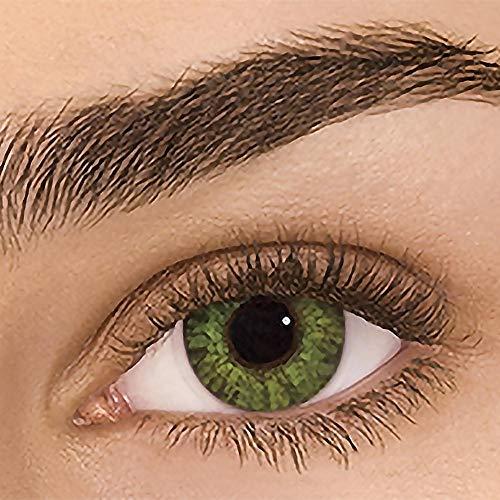 waysad Natürliche Kontaktlinsen farbig, 1 Paar (2 Stück) Halloween 12 Farben Kosmetik Kontaktlinsen Farblinsen Kontaktlinsen | Dia 14.20 | 0.00 Dioptrien
