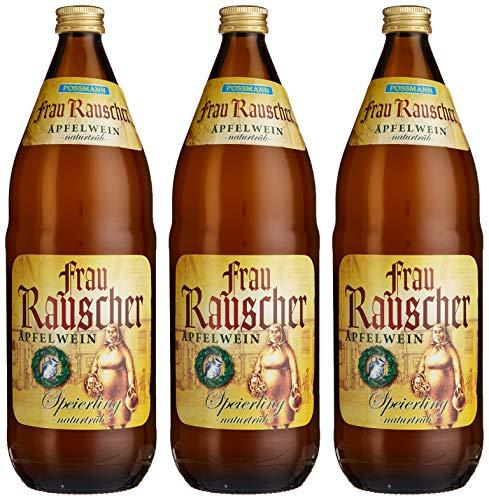 POSSMANN Frau Rauscher Äpfelwein Speierling naturtrüb (3 x 1 l)