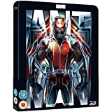 Ant-Man 3D Steelbook / Lenticular Cover / Includes 2D Blu Ray / Zavvi Version.