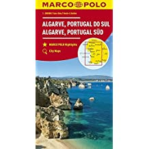 MARCO POLO Karte Algarve, Portugal Süd 1:200 000 (MARCO POLO Karten 1:200.000)