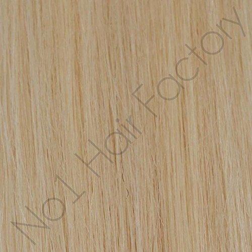 no1hairfactory Haarverlängerung, Stands-125, , 60 - Light Blonde, Stück: 1 -