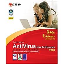 Trend Micro AntiVirus+AntiSpy 2008 (1Jahr)