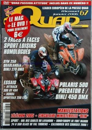 Quad Hytrack - QUAD PASSION MAGAZINE [No 67] du 01/06/2006