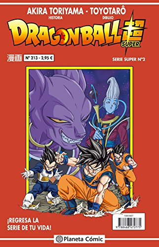 Descargar Libro Dragon Ball Serie roja nº 213 (DRAGON BALL SUPER) de Akira Toriyama