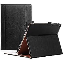 ProCase Funda ASUS ZenPad 3S 10 9.7 Pulgadas Z500M Z500KL -Clásico Folio de Soporte Cubierta Inteligente Plegable para ASUS ZenPad 3S 10 Tablet, con Múltiples ángulos de Vista – Negro