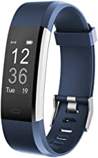 OMNiX™: ID115 Plus HR Smart Wristband Heart Rate Monitor with 0.96 Inch OLED Display / KIONIX Sensor/ Pedometer /Distance /Calorie /Sleeping Monitor/ Multiple Sports Modes/ Alarm Clock/ Remote Camera Control/ Sedentary Alert/ In-coming Call Alert/ Heart Rate Monitor/ Bluetooth 4.0/ Life waterproof / Android 4. 4