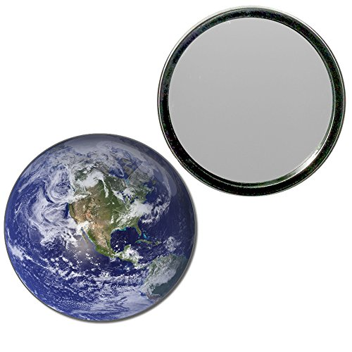 Earth - 55mm ronde de miroir compact
