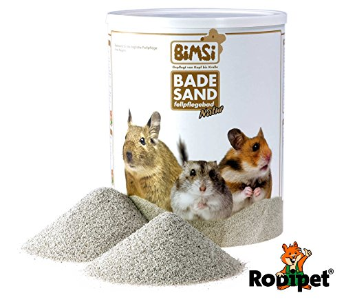 Rodipet 3 Liter BiMSi® Badesand Natur