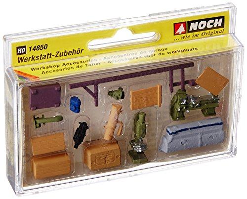Noch - 14850 - Modélisme Ferroviaire - Éléments De Décoration - Accessoires De Garage