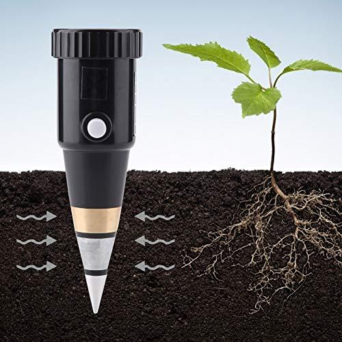 Boden PH Meter Tester Kit , Boden Tester Feuchtigkeitsmesser , Boden Test Tool Hygrometer Tragbarer Feuchtigkeitssensor PH-Instrument für Blumen/Gras/Pflanze/Garten/Bauernhof/Rasen
