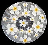 Duschhaube Shower Cap Blumen-Motiv Haarschutz Badehaube Haube Dusche