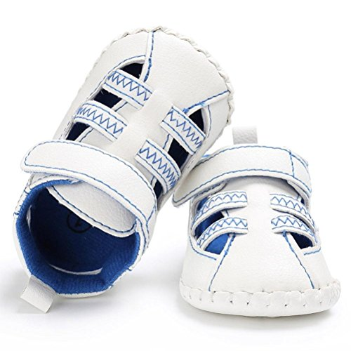 Kleinkind Sandalen Leder Baby Sommer Blau Rutschfest Bzline® Sneakers qz1pZ1