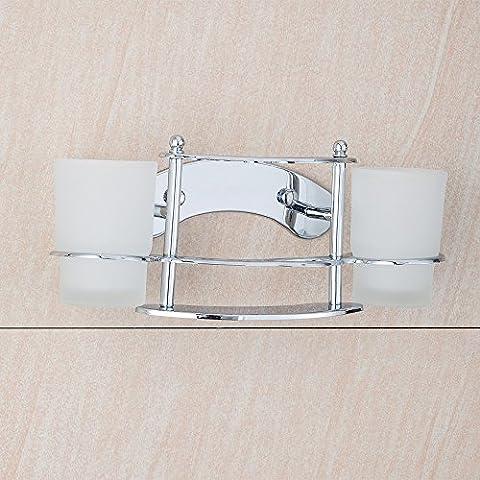 Edelstahl Bad Hardware Zubehör Wandhalterung hochwertige Doppel Chrom Zahnbürste Halter