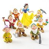 """Blancanieves - Set 8 Figuras 6-10 cm / Snow White 8 Figures Set 2""""-4"""""""