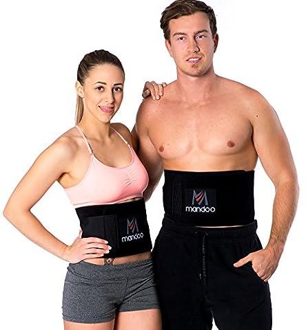 Premium Fitnessgürtel Set – inklusive Gratis Tragetasche und E-Book –