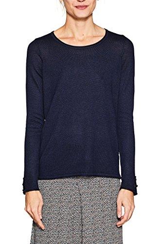 ESPRIT Damen Pullover 997EE1I805, Blau (Navy 5 404), Small