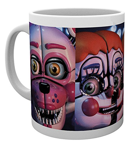 "GB eye ""Five Nights At Freddy's, Sister Location Faces"" Mug, Multi-Colour"