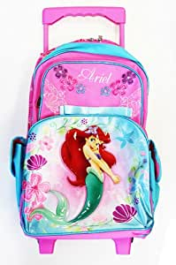 Disney Little Mermaid Rolling Backpack - Full Size Wheeled
