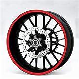 Alchemy Teile & Zubehör Rot Felge Streifen Aufkleber Sticker 7mm x 6m für Auto Motorrad Quad Dreirad