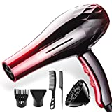 Ysysdyp Professional Hair Dryer And 2200W Thermostatic Hair Dryer, Use Negative Ionic Technology