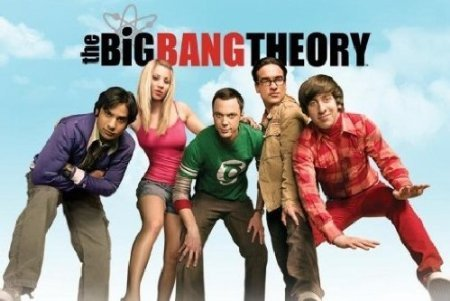 Poster The Big Bang Theory - Sky Fernsehserie - Größe 61 x 91,5 cm - Maxiposter