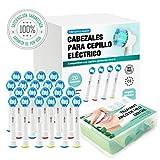 Tillmann's Cabezales Para Cepillos Oral B 20 unidades Más Arcos...