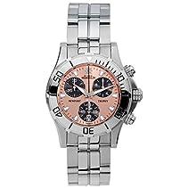 Michel Herbelin Newport Trophy Grand Sport Damen Chronograph silber/roségoldfarben 34591/TR89B