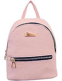 Womens Backpack Shoulder PU Leather Ladies Handbag Travel Tote Messenger Bag  (one size 68046dca9b992