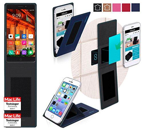 reboon Hülle für Elephone P9000 Lite Tasche Cover Case Bumper | Blau | Testsieger
