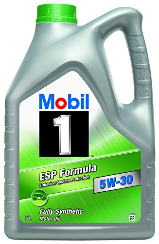 Mobil 1 ESP Formula 151055 5W30 Fully Synthetic Motor Oil 5L pas cher