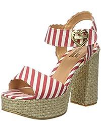Love Moschino JA162, Sandalias de Cuñas Mujer