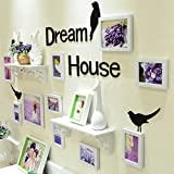 Best Pictures For Living Room Decors - WollWoll Flower Lavender Scenery with Shelf Home Decor Review