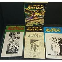 Les ailes du Phaéton: coffret tomes 1 [dédicacé]-2-3 [EO] + 2 ex-libris numérotés & signés + 1 carnet de croquis