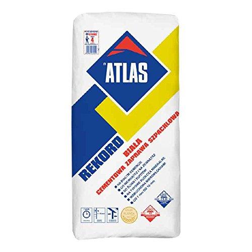ATLAS REKORD WEIß Zementmörtel 1-10 mm 25 Kg