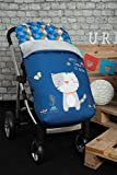 Babyline Kitty - Saco de silla de paseo, color azul