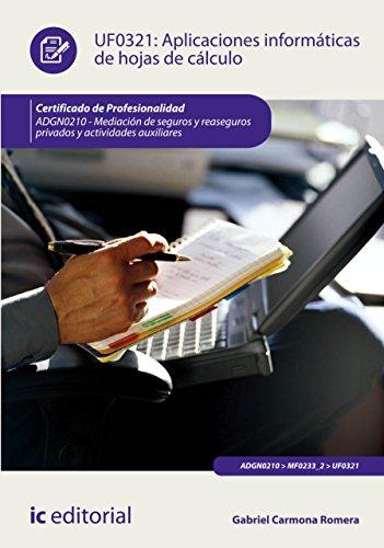 Aplicaciones informáticas de hojas de cálculo. ADGN0210 por Gabriel Carmona Romera