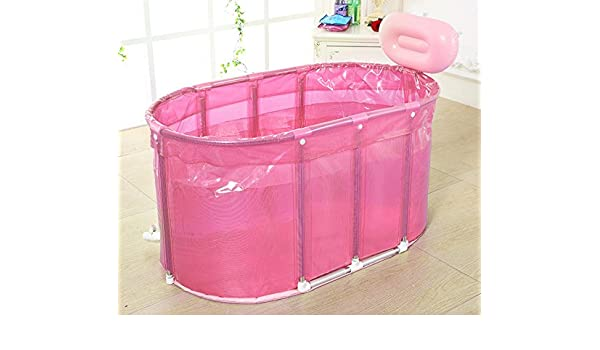 Vasca Da Bagno Portatile : Vasca da bagno gonfiabile adulta portatile adatta sauna bagno staffa