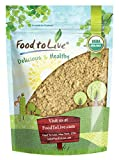 Food to Live Mezquite en polvo orgánico certificado sin OMG (8 onzas)