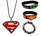 eshoppee spiderman batman wrist band sup...