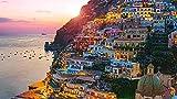 DKMDT Puzzle da 1000 Pezzi Romantico Paesaggio residenziale sul Mare Puzzle per Adulti