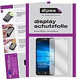 Alcatel Idol 4 Pro Schutzfolie - 2x dipos Displayschutzfolie Folie klar
