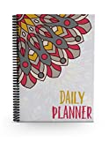 #5: Oriental Feathers Daily Planner (A5 Size)