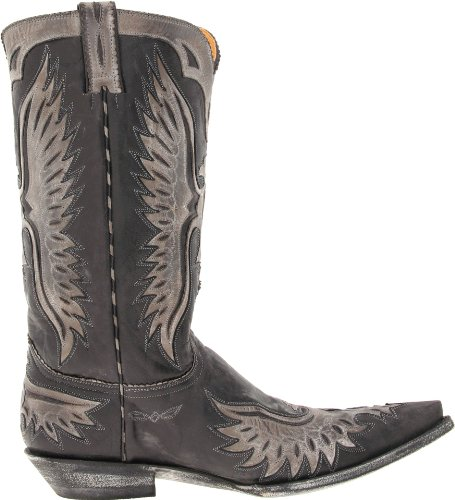 "Old Gringo Eagle 13"" Cuir Santiags Black"