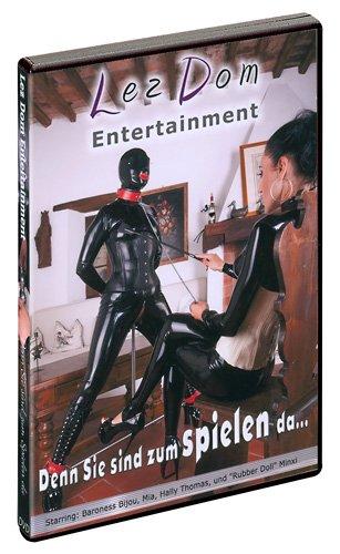 Preisvergleich Produktbild Denn sie sind zum Spielen da...œ - Die strenge Erziehung von Rubber Doll Minxi! Mit Baroness Bijou und Hally Thomas. Deutscher Ton. HC-DVD, ca. 58 Minuten. Label: LezDom