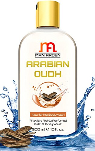 Man Arden Arabian Oudh Luxury Moisturising Shower Gel, 300ml