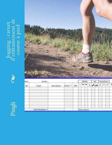 Jogging : carnet d'entrainement de course  pied